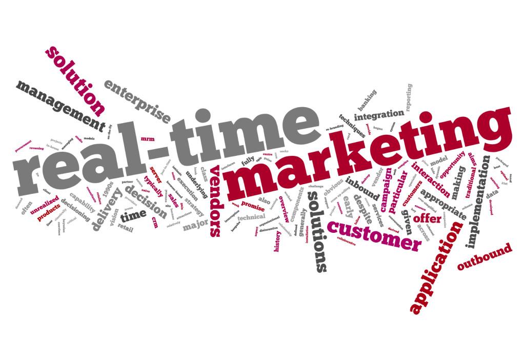 Las marcas apuestan por el marketing en tiempo real