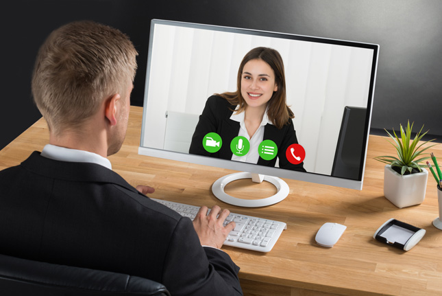 entrevista de trabajo online