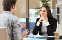 Cuatro preguntas modelo en una entrevista de trabajo