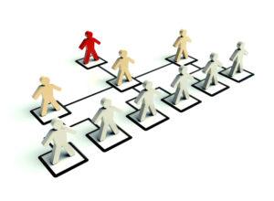 organigrama vertical de una empresa