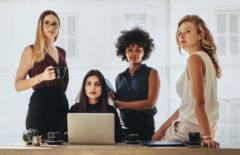 Las mujeres y los negocios emprendedores