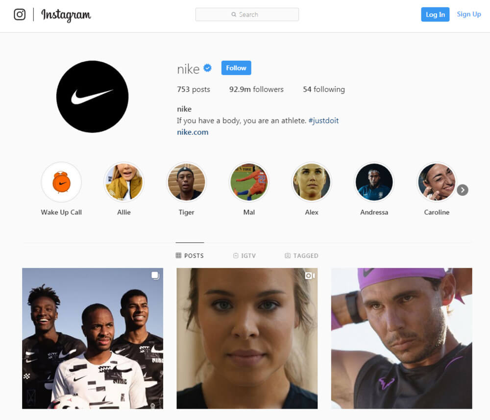 Marca Nike